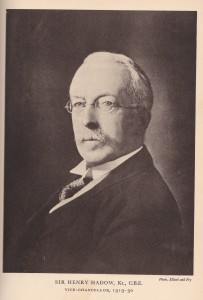 Sir Henry Hadow